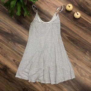 Billabong Black & White Striped Dress